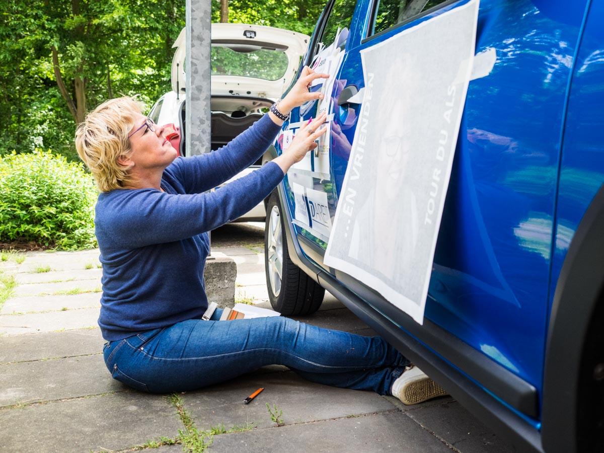 Auto beplakken euroline Anoes Groot