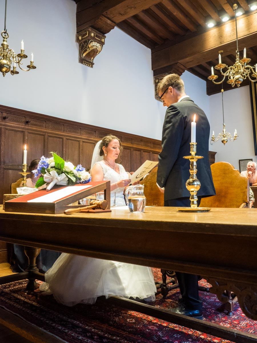 Bruiloft Huizen - Naarden: Niamh en Jos