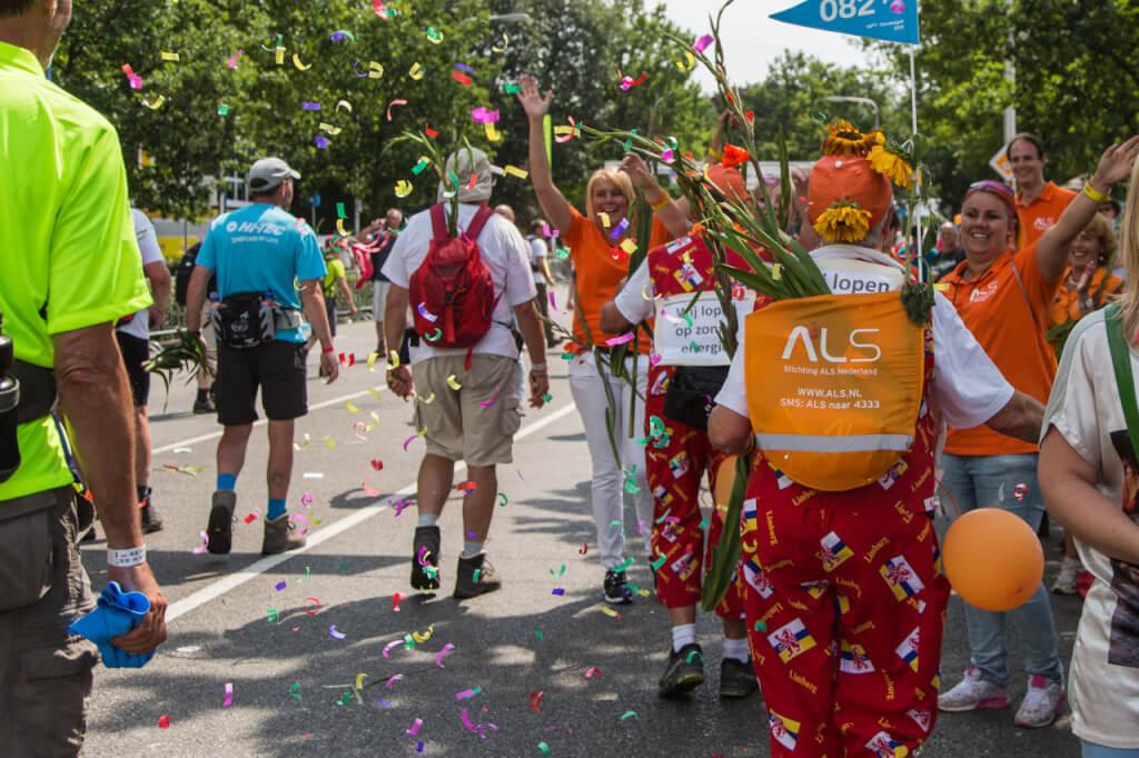 Vrijwilliger ALS fotografie Vierdaagse Nijmegen